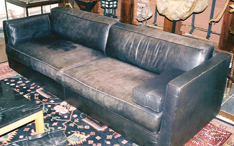 #fadedsofa #leatherrepair #beforeandafter